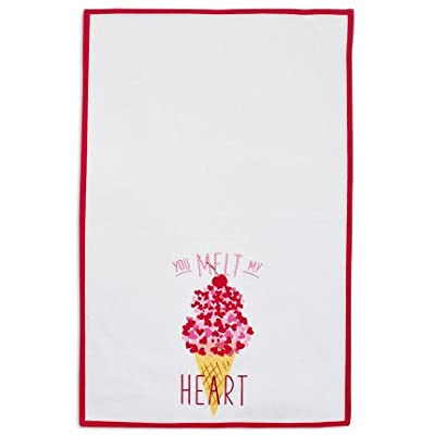"Sur La Table Gelato Kitchen Towel 6013717 PRN EM , 28"" x 18"""