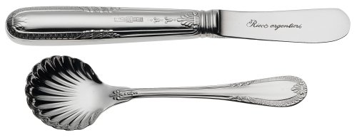 Ricci Impero 5-Piece Stainless-Steel Flatware Hostess Set