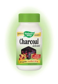 Natures Way Activated Charcoal Capsules