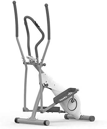 ZT-TTHG 高度なエクササイズ自転車トレーナーフィットネスエリプティカルトレーナーエリプティカル・クロストレーナーエアロバイク・フィットネス・カーディオワークアウトマシンのホームの理想カーディオトレーナー(カラー:ホワイト、サイズ:フリーサイズ)