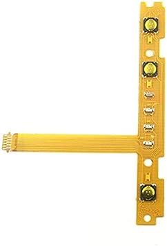 Accesorios de reparación Cable Flexible de tecla de botón SR para línea de Controlador Joy-con Switch