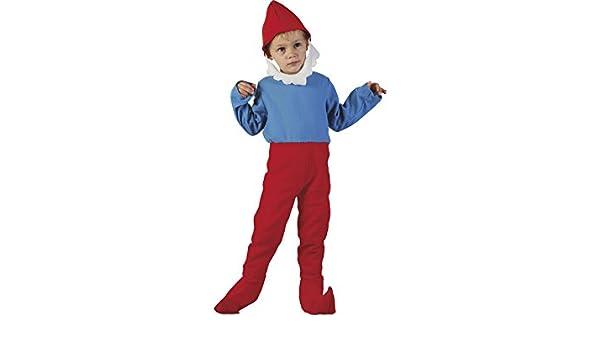 DISONIL Disfraz Gnomo Rojo Bebé Talla M: Amazon.es: Juguetes y juegos