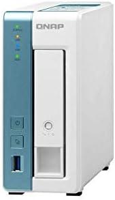 QNAP TS-131K-US 1-Bay Annapurna Labs AL-214 Quad-Core 1.7 GHz Processor with 1 GB RAM