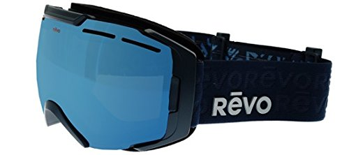 Revo RG 7007 Echo Polarized Ski Goggles, Dark Slate, Blue Water