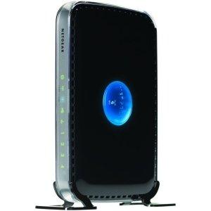 Netgear RangeMax WNDR3400 Wireless Router 4 x 10/100Base-TX Network LAN, 1 x 10/100Base-TX Network WAN - IEEE 802.11n (draft) - 600Mbps WNDR3400-100NAS by Generic