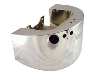 Chrome Plated Oil Tank Fits Softail models 2000/Later (except FXCW & FXCWL) Replaces HD# 62498-00A (Imported)