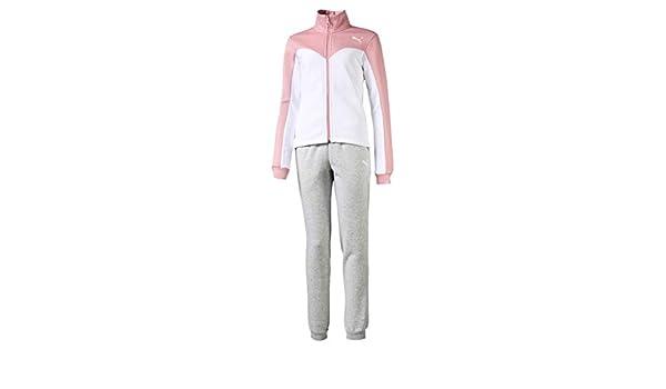 PUMA Suit G - Chándal para niño, Color Rosa Rosa 116 cm: Amazon.es ...