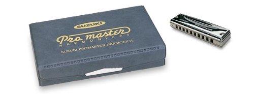 Suzuki MR-350 Promaster Deluxe 10-Hole Diatonic Harmonica, 6-Piece - Harmonicas Sam Ash