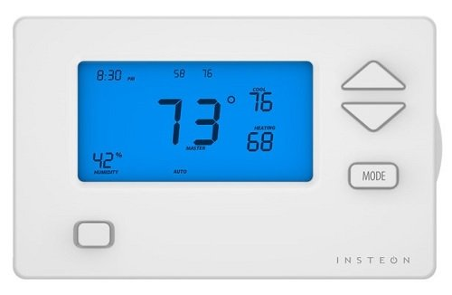 Insteon Thermostat Programmable Remote & Smartphone Controllable - Device 42 - 2732-292