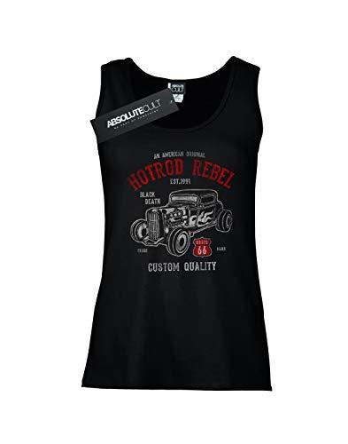 Camiseta Mujer Sin Drewbacca Negro Rod Rebel Mangas Hot dI1dwB