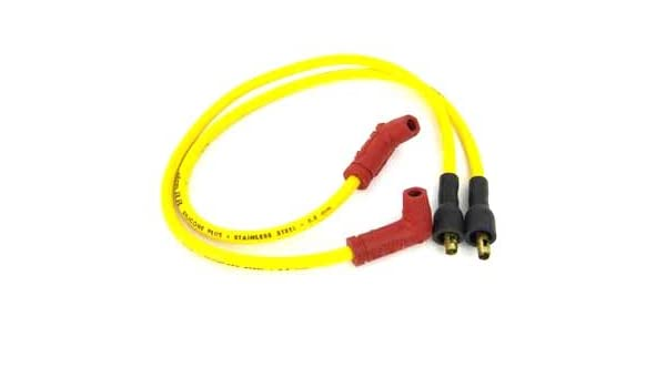 V-Twin 32-0659 Accel Yellow 8.8mm Spark Plug Wire Set, Spark ... on