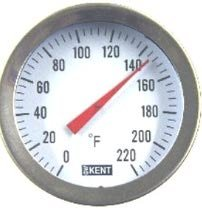 Stainless Steel Brewing Thermometer W/12\
