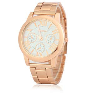 Amazon.com: Ladies Watch Watches Women Quartz Reloj Mujer Geneva Rose Gold Clock Watches Montre Femme Saat Relogio 1: Jewelry