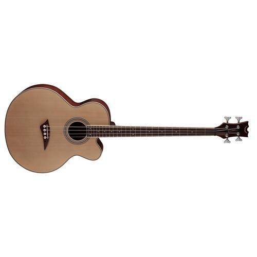 Dean EABC Cutaway Acoustic-Electric Bass Guitar - Natural (Natural Bass Guitar Electric)