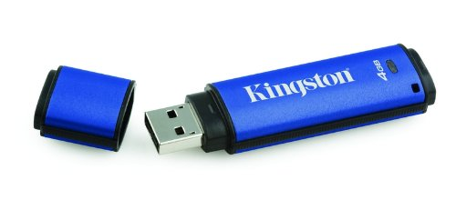 Kingston Digital DataTraveler Vault Privacy Managed Secure Drive 4 GB Flash Drive DTVPM/4GB ()