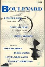 Boulevard: Journal of Contemporary Writing--Vol. 1, No. 1--Spring 1988