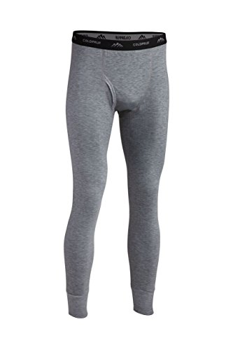 ColdPruf Men's Platinum II Performance Base Layer Pant, Heather Grey, Large