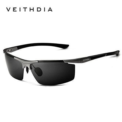 Aluminum Magnesium Sunglasses Polarized Sports Men Driving Sun Glasses Eyewear 1 - Veithdia Sunglasses
