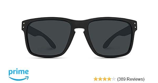 6d81662506eb WearMe Pro - Premium Polarized Mirror Lens Classic Square Style Sunglasses