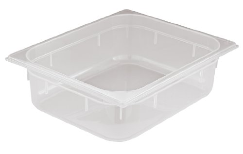 Paderno World Cuisine 12 3/4 inches by 7 1/8 inches Polypropylene Hotel Food Pan - 1/3 (depth: 7 7/8 inches)