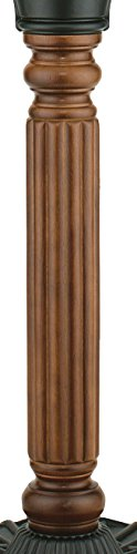 (Fanimation FPH70CP Old Havana Pedestal Column Carved Post)