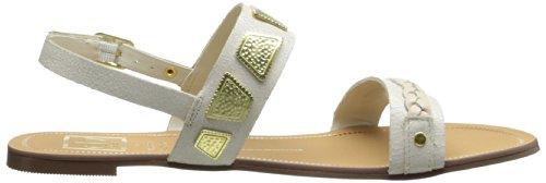 Dv By Dolce Vita Womens Daliah Gladiator Sandal Bone