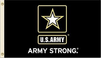U.S. Army 3'x5' Flag ''Army Stong''