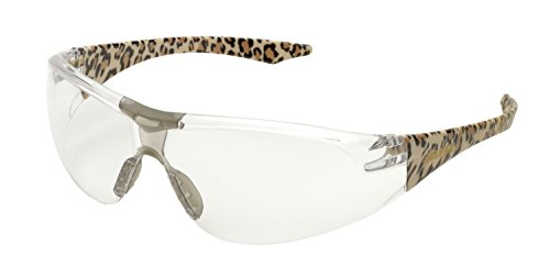 Elvex WELSG18CLEO Avion, One Size, Clear Lens/Leopard Temple