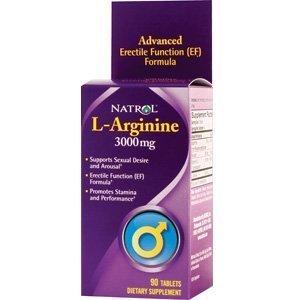 L-Arginine 3000Mg By Natrol - 90 Tab, 2 Pack