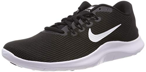 Nike Men's Flex 2018 Rn Black/White Black Running Shoe 10.5 Men US
