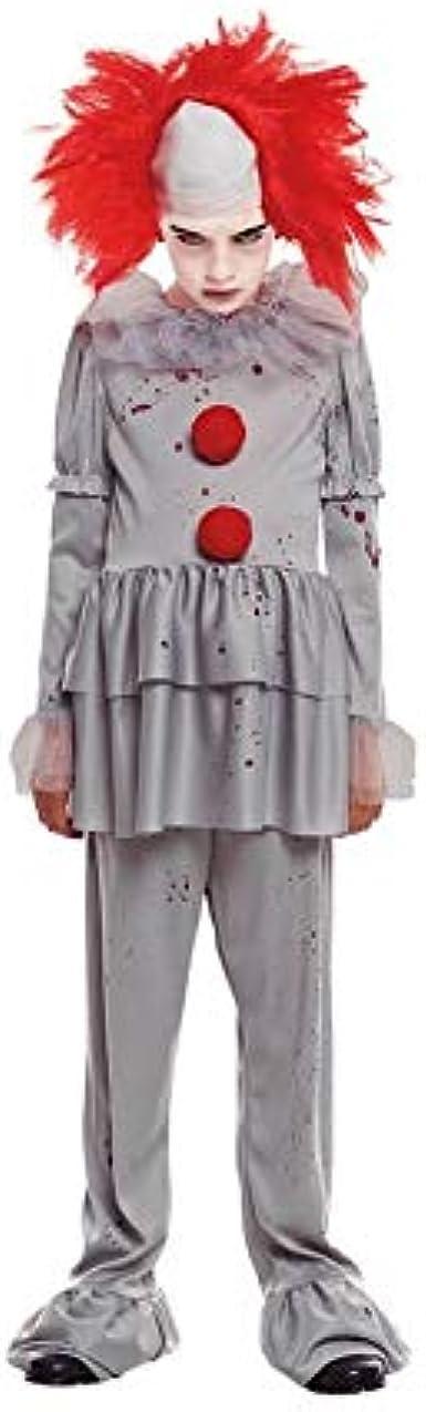 Partylandia Disfraz de Payaso Gris de niño para Halloween 4-6 Años ...