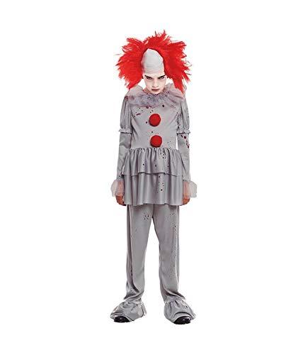 Partylandia Disfraz de Payaso Gris de niño para Halloween
