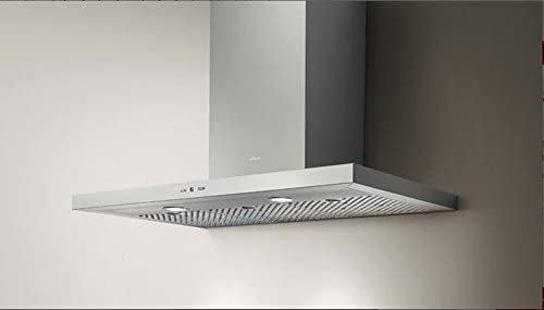 Elica TRENDY IX/A/60 De pared Acero inoxidable 850m³/h - Campana (850 m³/h, Canalizado, 46 dB, 64 dB, 50 cm, 65 cm): Amazon.es: Hogar