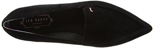 Black Shlim Black Baker Loafers WoMen Ted Moccasins FvwPx