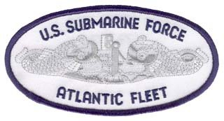 Navy U.S. Sub Force Atlantic Fleet 5.25