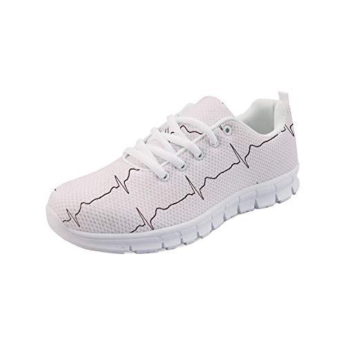 Flats Running Lightweight Heartbeat Womens Tennis Air Walking Coloranimal Mesh Sneakers 1 Footwear qH0wn4vt