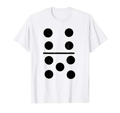 Big Domino Halloween Group Costume T-Shirt 4-5 Tile Tee -