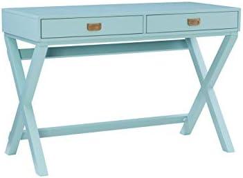 Linon Home D cor Jaycee Blue Writing Desk Review