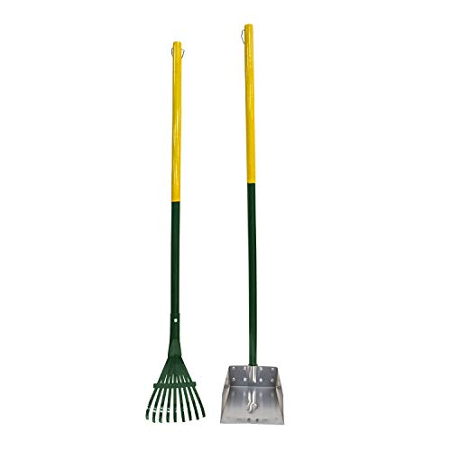 Four Paws Dog Rake & Scooper Set for Pet Waste Pick-up, , 1 count, Small - Set Rake