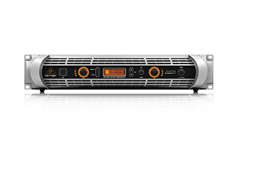 Behringer iNuke NU3000DSP Ultra-Lightweight High-Density 3000-Watt Power Amplifier with DSP Control and USB Interface