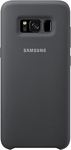 Samsung Behold Silicone Case - Samsung Galaxy S8 Protective Cover, Dark Grey