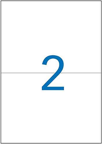 scatola da 200 pezzi colore: bianco Agipa-Etichette stampabili con stampanti a getto dinchiostro o Laser e fotocopiatrici 210 x 148,5 mm