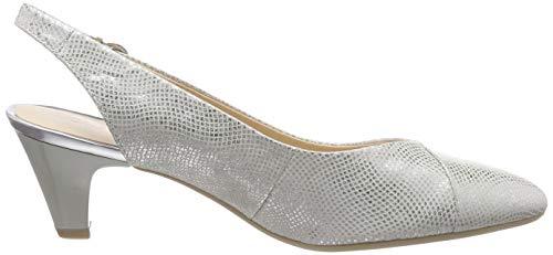 Cinturino Multicolore Caviglia Caprice silver Foil Cristina Scarpe Alla Con Donna 990 Wrtq0qwXn