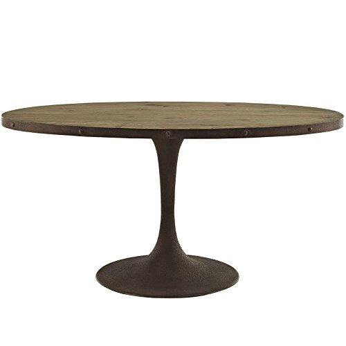 Country Oval Pedestal (Modway Drive 60