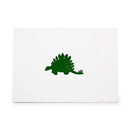 Stegosaurus Dinosaur 1236 Rubber Stamp Shape great for Scrapbooking, Crafts, Card Making, Ink Stamping Crafts