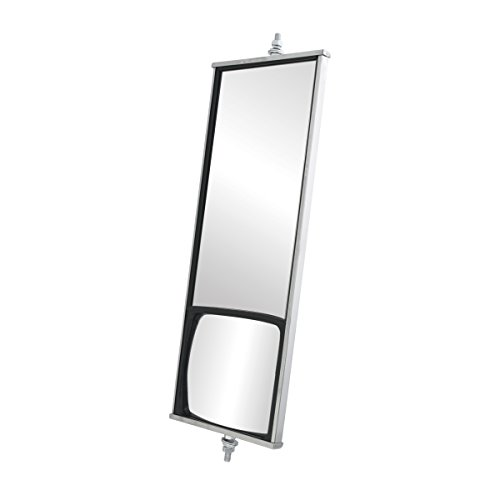 Grand General 0 33230 Stainless Steel West Coast Built-in Convex Mirror for Trucks, Buses, Utility Vehicles and More
