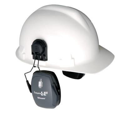 Cap Mounted Ear Muff 23dB Gray