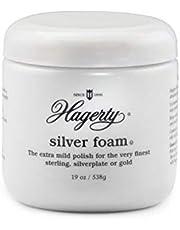 Hagerty 11170 Foam Mild Silver Polish, 19 oz, White