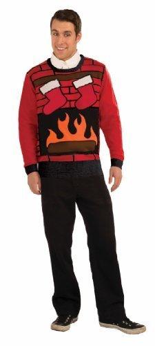 Forum Novelties Adult Ugly Christmas Eve Sweater, Multi,
