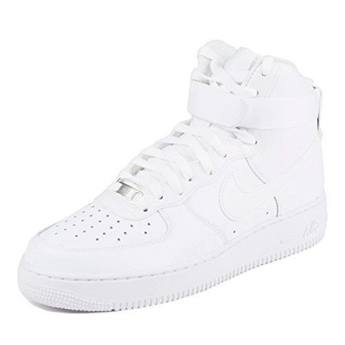 Nike Mens Air Force 1 High 07 Basketball Shoes White/White 315121-115 Size 11.5